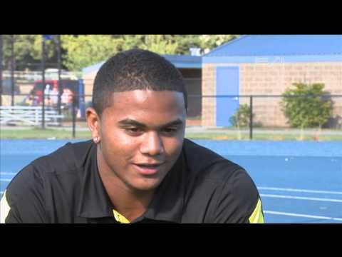 Thomas Tyner - Aloha High School Running Back - Highlights/Interview - Sports Stars of Tomorrow