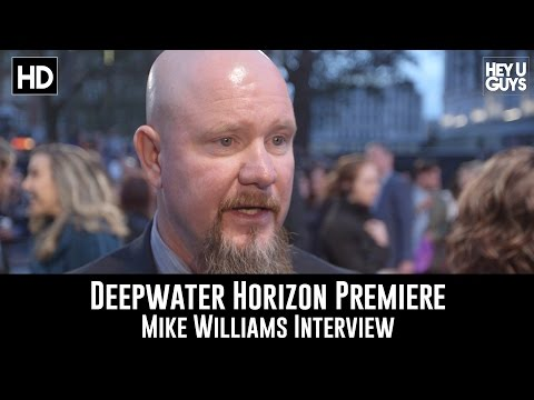 Mike Williams Premiere Interview - Deepwater Horizon