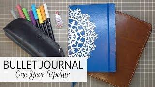Bullet Journal (Not So) Newbie | One Year In