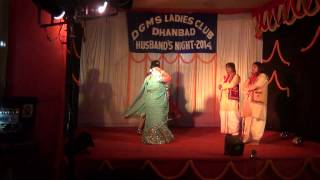 Ude jab jab zulfen teri dance performed by Ritu, Mamta, Laxmi and Shabnam