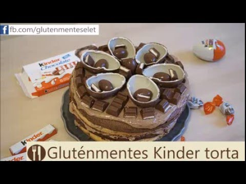 glut nmentes kinder torta i glut nmentes let youtube. Black Bedroom Furniture Sets. Home Design Ideas