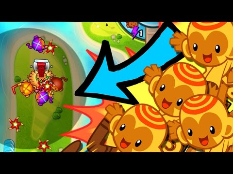 Bloons TD Battles  |  BOOMERANG MONKEYS CRUSH!