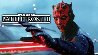 Star Wars Battlefront 2 - Pushing Heroes off the Map Montage