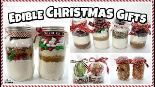 8 DIY Edible Christmas Gifts  🎄 EASY and Budget Friendly Gift ideas