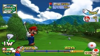 Dolphin Emulator 4.0.2 | Mario Golf: Toadstool Tour [1080p HD] | Nintendo GameCube