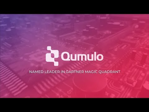 Qumulo - Named Leader In Gartner Magic Quadrant