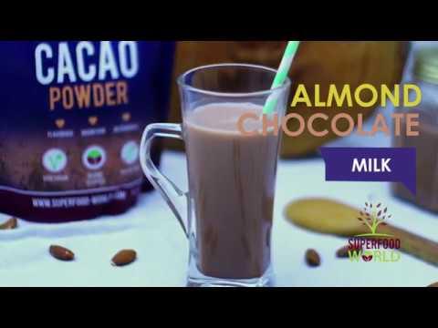 Almond Chocolate Milk Recipe - Superfood World