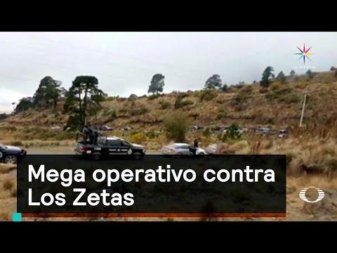 Mega operativo contra Los Zetas  - Inseguridad - Denise Maerker 10 en punto