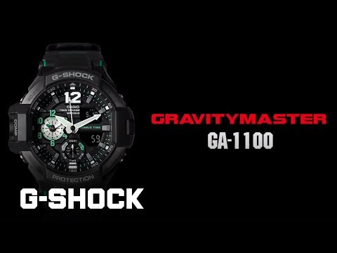 CASIO G-SHOCK GRAVITYMASTER GA-1100 product video