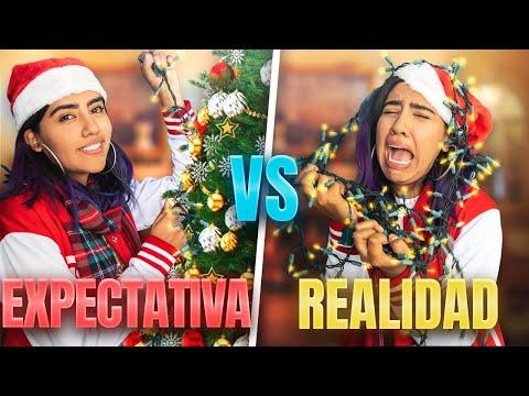EXPECTAVIA VS LA REALIDAD DE LA NAVIDAD | KAREN POLINESIA MUSAS LOS POLINESIOS