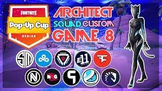 Architect Pop-Up 🥊Squad Customs🥊 Game 8 (Fortnite)