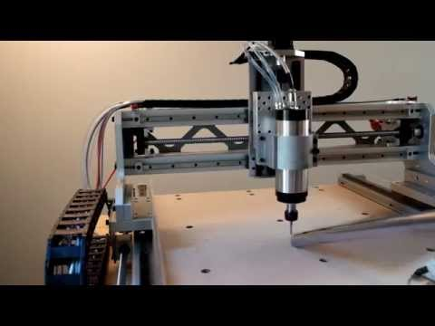 DIY CNC Router: Drilling fixture holes in bed