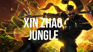 League of Legends - Secret Agent Xin Zhao Jungle - Full Game Commentary