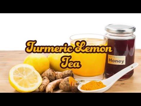 LEMON-GINGER-TURMERIC TEA TO DETOXIFY YOUR LIVER