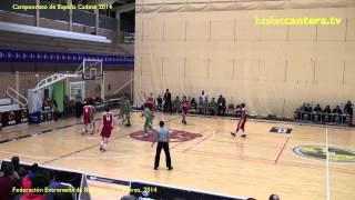 """U16M - Selec. """"ARAGÓN vs. ANDALUCÍA"""" - Cpto. España Cadete Masc. (BasketCantera.tv)"""