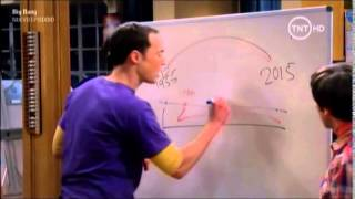 The Big Bang Theory - Gramática de Regreso al Futuro