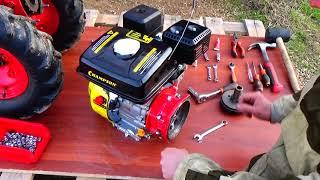 Косарка МФ-70. Заміна двигуна. Відеоінструкція. Частина 1.