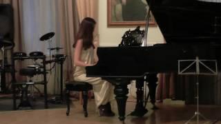 Буздалина Екатерина – «Менуэт ре минор», Моцарт