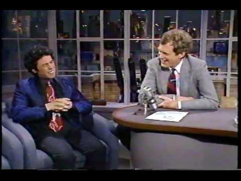 Gilbert Gottfried Segment on 80's Letterman Show
