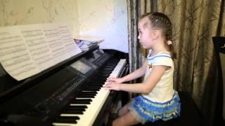 ОНА ВЕРНЁТСЯ.... Дети поют.  Виктория Викторовна 6 лет.