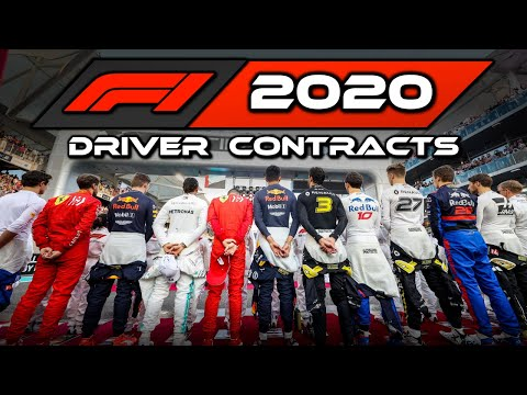 All F1 2020 Driver Contracts