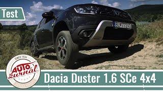 Dacia Duster 1.6 SCe 4x4 TEST: Štvorkolka ktorá nepozná v teréne prekážku