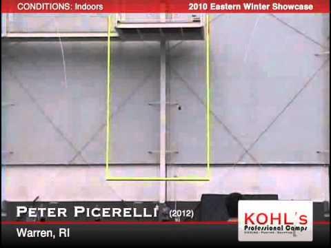 Peter Picerelli  2012 Punter LaSalle Academy, Rhode Island