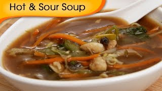 Hot And Sour Soup - Easy To Make Healthy Homemade Chinese Soup - Appetizer Recipe By Ruchi Bharani