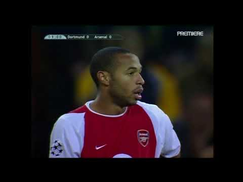 Borussia Dortmund 2-1 Arsenal 2002/03 Champions League HD FULL MATCH
