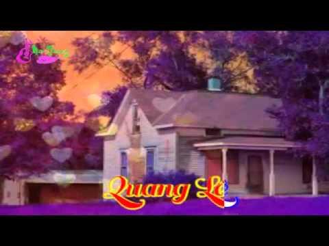 Căn Nhà Màu Tím   Quang Lê   Mai Thiên Vân   Karaoke