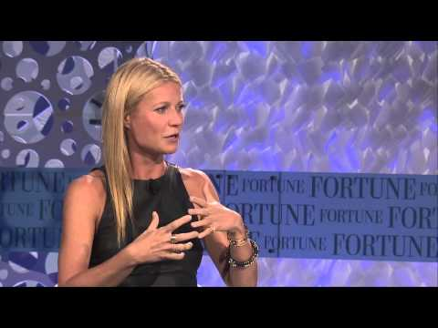 Gwyneth Paltrow Talks Goop and Martha Stewart  Full  Fortune MPW