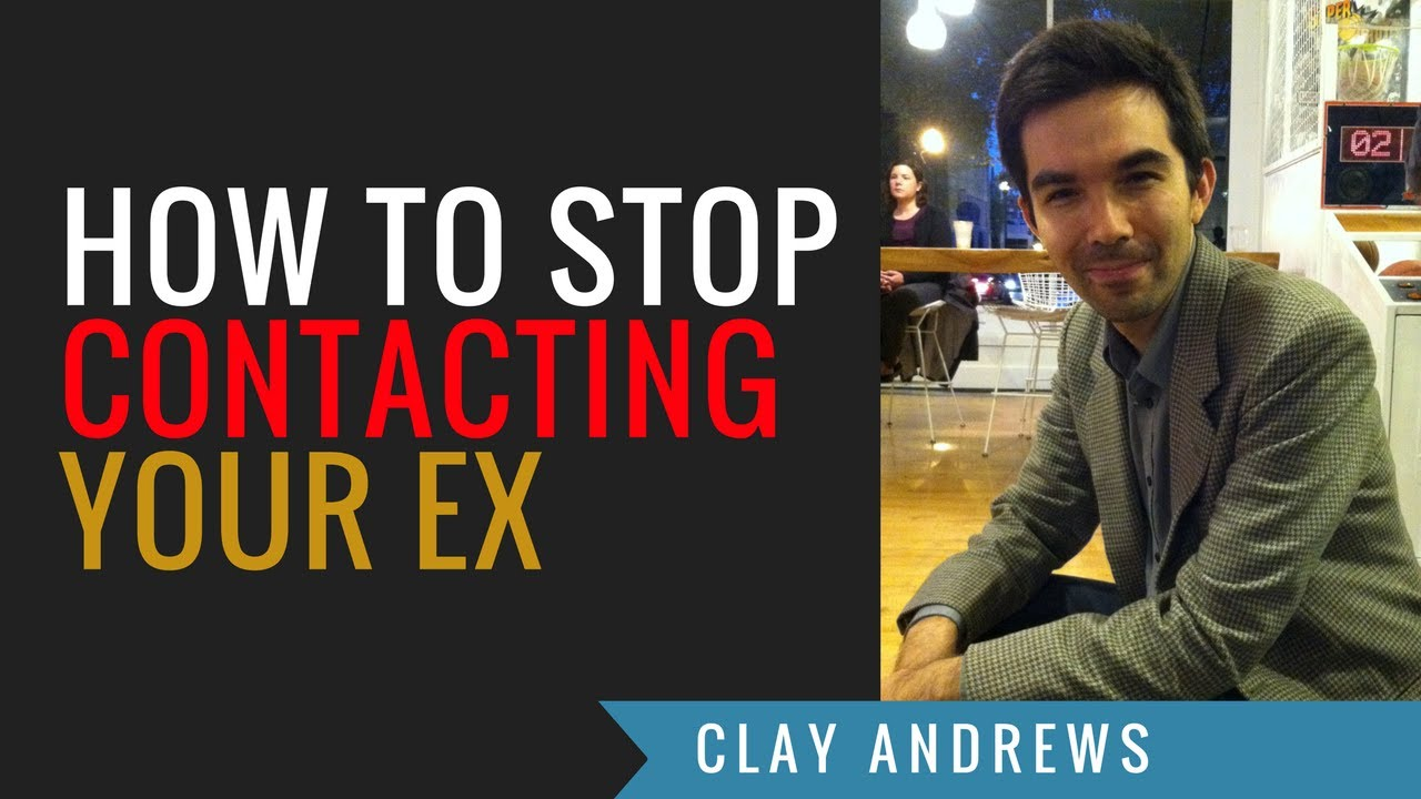 How to stop contacting your ex