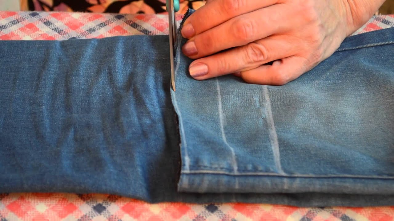 Как сделать из старых штанов оригинальные шорты