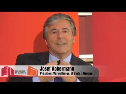 Der Montag an der Spitze: Josef Ackermann