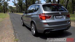 2015 BMW X3 xDrive28i 0-100km/h & engine sound