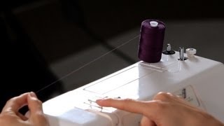 How to Thread a Machine | Sewing Machine