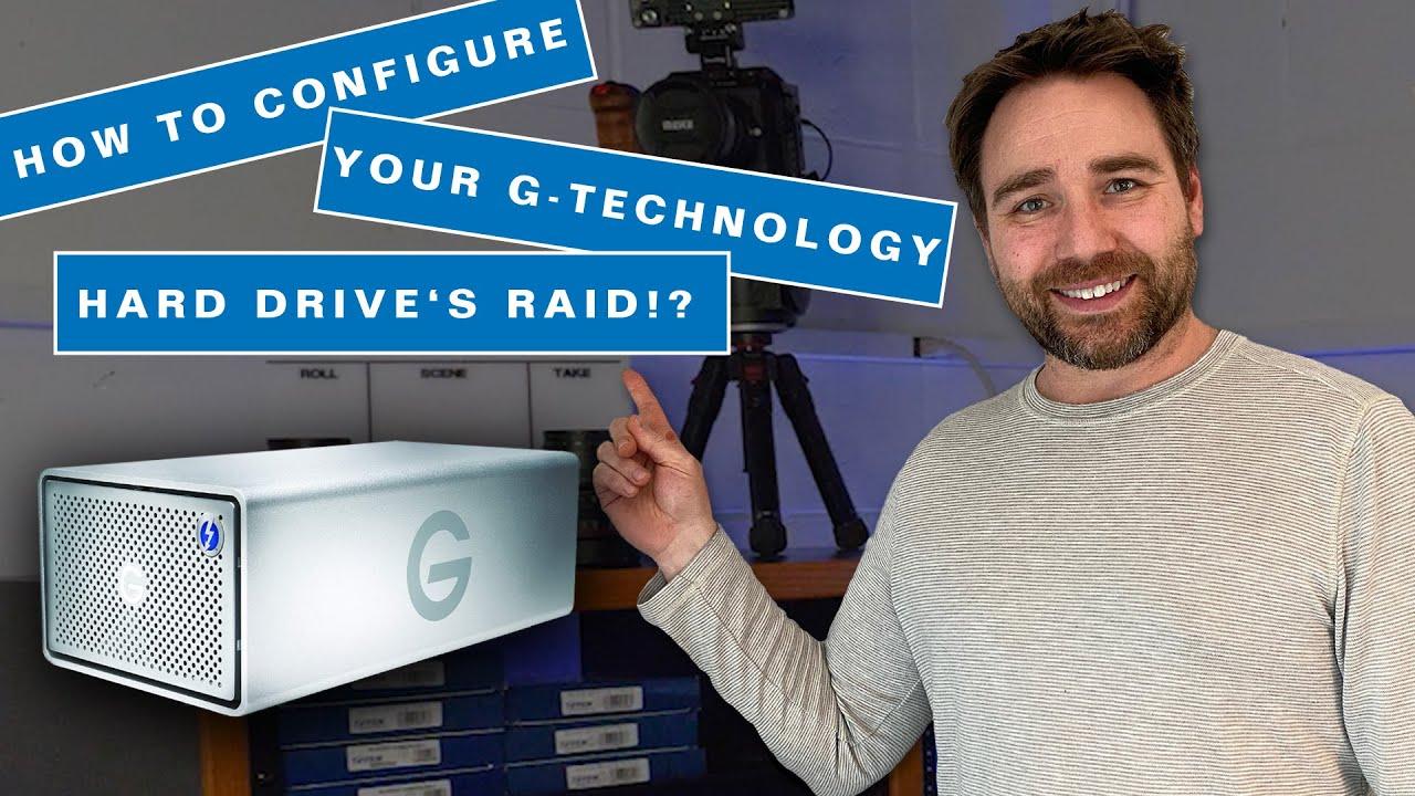 How to configure your G-Technology G RAID hard drive! What is RAID 0,  RAID 1, RAID 5, and RAID 6