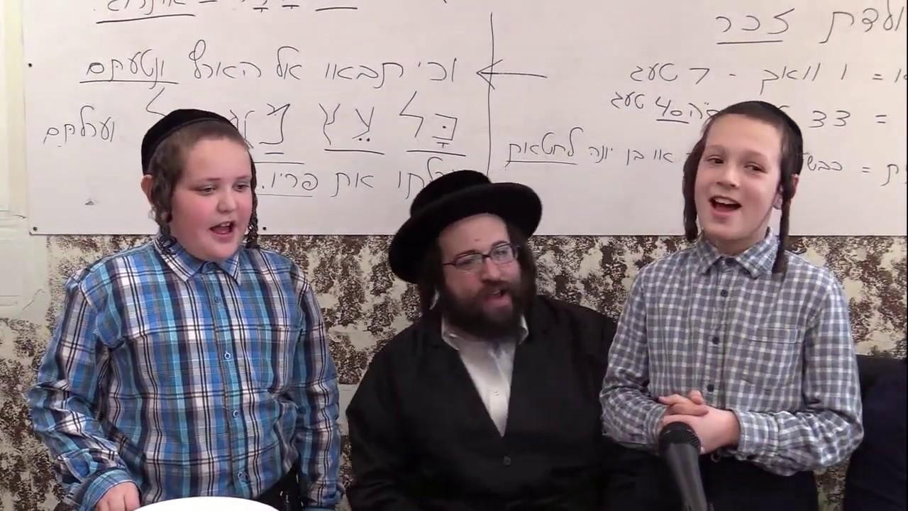 ר' יואל ראטה - סיום מס' ברכות הילד יעקב יוסף סאלי - ד' תזריע תשע''ט - R' Yoel Roth