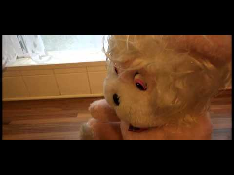 VINTAGE TALKING PINK LION OLD FASHION PULL STRING SOFT CUDDLY STUFFED /PLUSH TOY