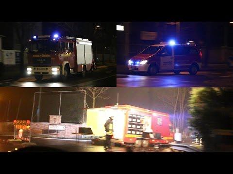 [BD3] Lagerhallenbrand Fa. EGN in Düren-Gürzenich (Einsatzfahrten+Einsatzort)