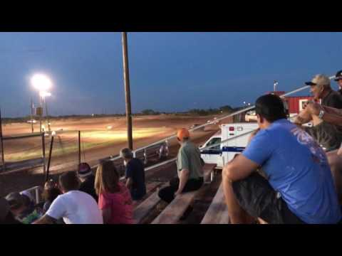 Abilene Speedway 7-15-17 - Chris Elliott Mod Heat Win