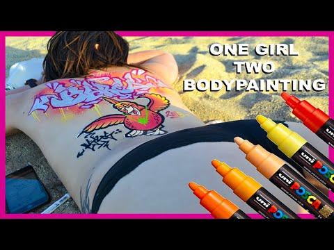 GRAFFITI BODYPAINTING #2  / BARCELONA / BY ESKOS