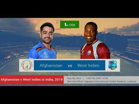West Indies vs Afghanistan 1st Odi Live score   Wi vs Afg Live Match