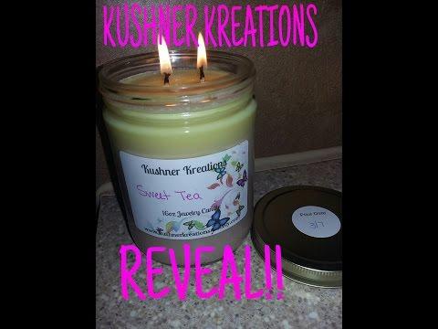 KUSHNER KREATIONS: Sweet Tea REVEAL!