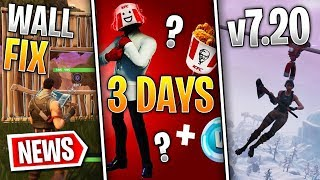 Fortnite News | KFC Collab on 14th?, Nuke Teased, Wall Placement Fix, Big v7.20 Fixes & More!