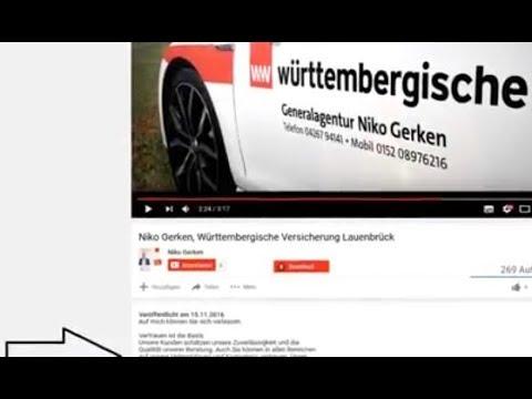 württembergischer Verfassungsschutz - Versicherungsbetrug