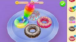 Permainan Anak Masak Masakan - Mainan Anak Perempuan Membuat Kue Donat - Fun Kids Cooking