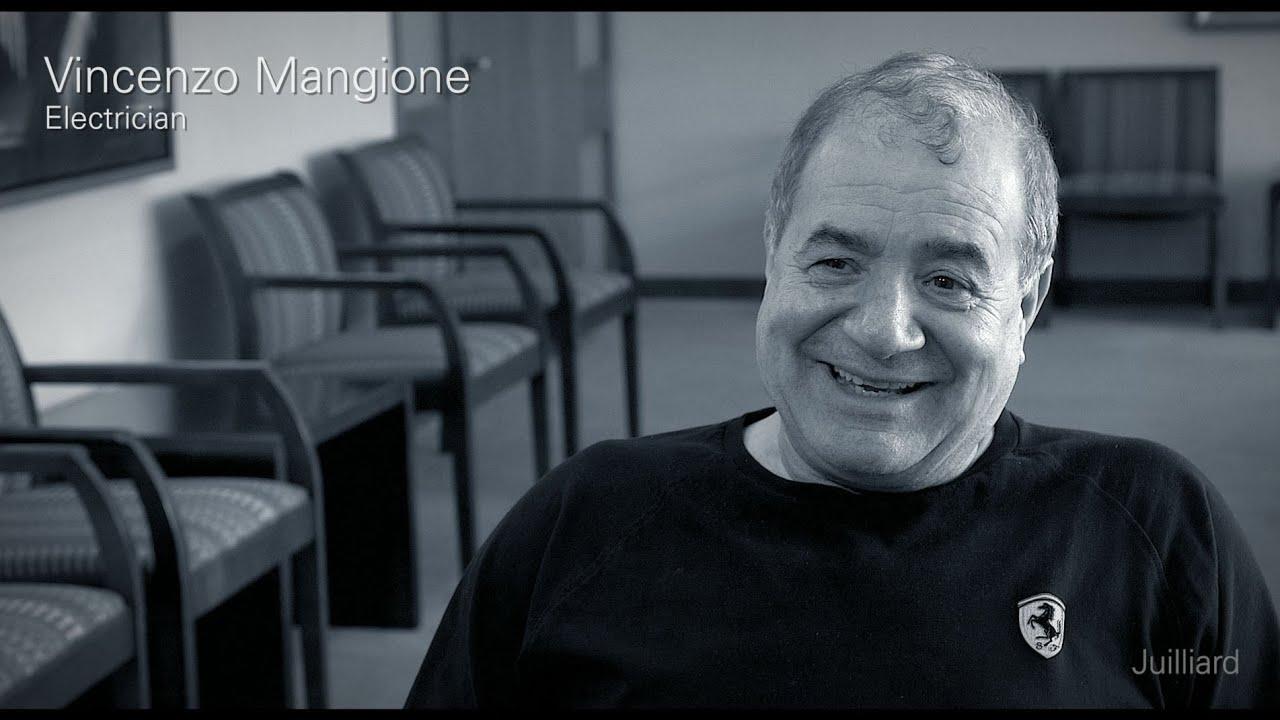 Juilliard Snapshot: Vincenzo Mangione