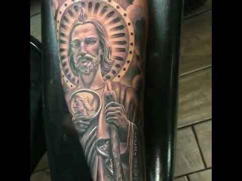 San Judas Tadeo Tattoo Youtube