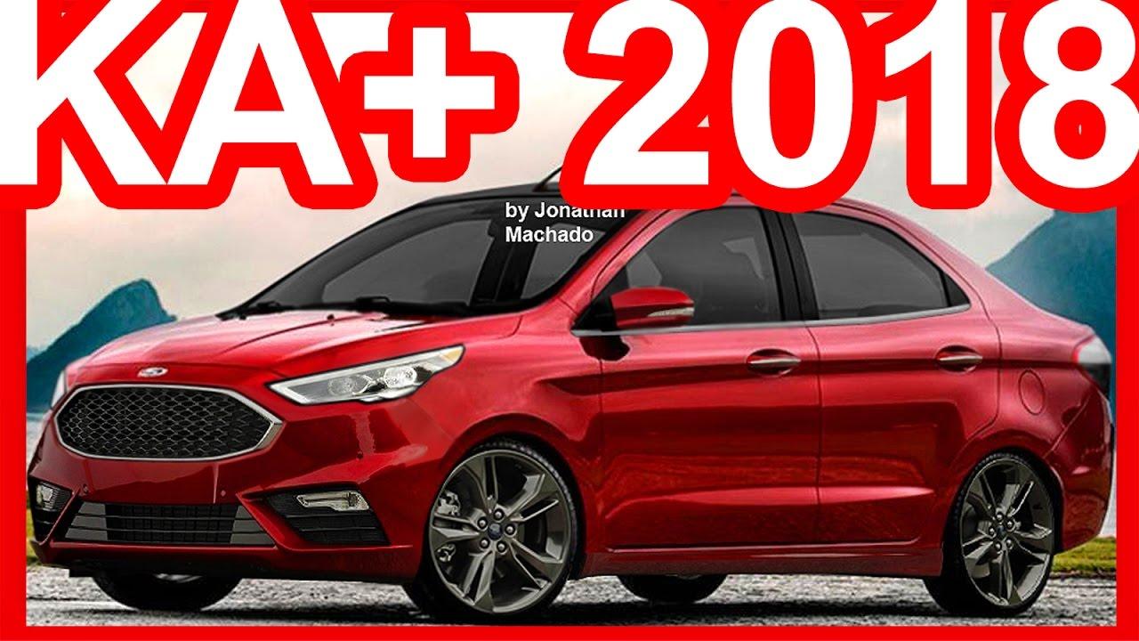 PHOTOSHOP Ford Ka+ Sedan 2019 Facelift #KA - YouTube
